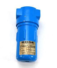 BOGE Mikrofilter F5 für Kompressoren, Filterelementtyp 1/5F, gebraucht keine OVP