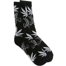 $14.00 HUFTH05BLK HUF x Thrasher Plantlife Socks (black)