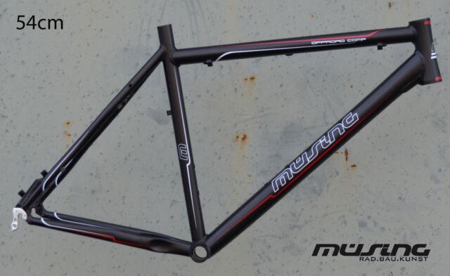 Müsing Offroad Comp Mountainbike Rahmen 54 cm Alu schwarz matt 26