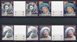 DéLicieux Falkland 2002 Mort De La Reine Mère Elisabeth Stegpaare 849-852 **-afficher Le Titre D'origine