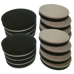 16 X Reusable Felt Furniture Movers Sliders Hard Floor Furniture