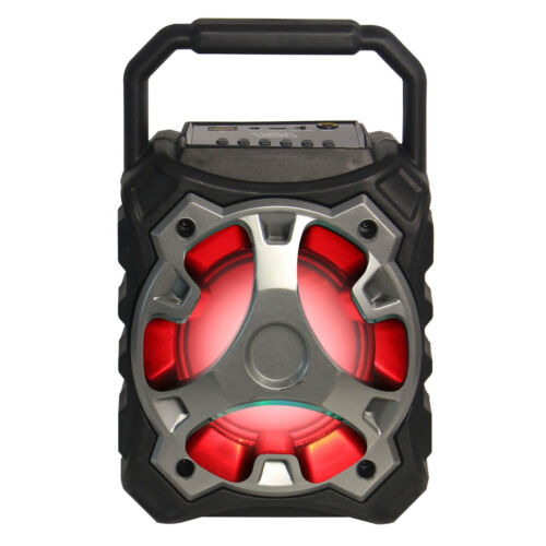 Bluetooth Wireless Rechargeable Multimedia Speaker Mic Input USB BLADE10 Silver