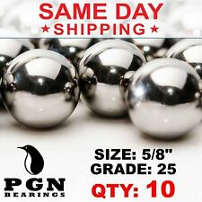 10 Qty 58 Inch G25 Precision Chrome Steel Bearing Balls Chromium Aisi 52100