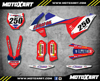 Ktm Sx 125 250 - 2016 2017 Custom Graphics Kit Active Style Decals Stickers