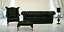 Chesterfield-3-1-Footstool-Genuine-Leather-Handmade-Sofa-Buttoned-Seat thumbnail 3