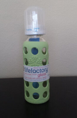 Adroit 9oz Lifefactory Baby Bottle Bright And Translucent In Appearance Baby Bottles