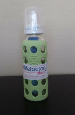 Adroit 9oz Lifefactory Baby Bottle Bright And Translucent In Appearance Bottle Feeding Baby