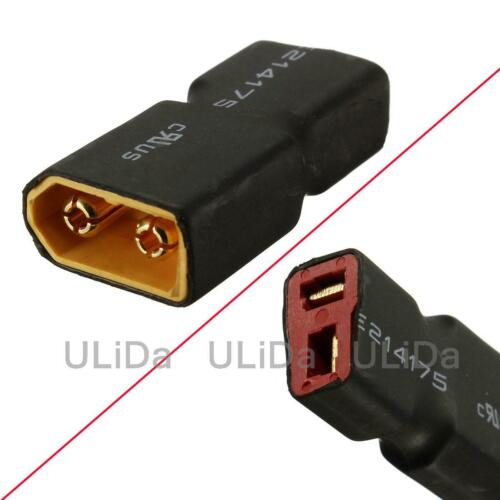 RC XT60 Male To Deans T Connector Female Adapter for Car Plane Heli Lipo Battery