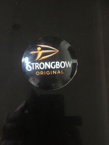 Strongbow Orginal Cider Plastic Round Pump Tbar Font Badge Fish Eye Lens