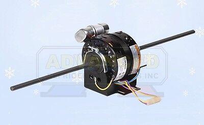 "NEW 5/"" DIA Fan Motor 1//10 HP 4 Speeds Reversible 1050 RPM Shaft 10.5/""x3//8/""x10.5/"""