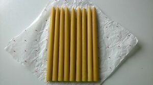 100-Natural-Pure-Beeswax-Candles-Classic-handmade-15-units