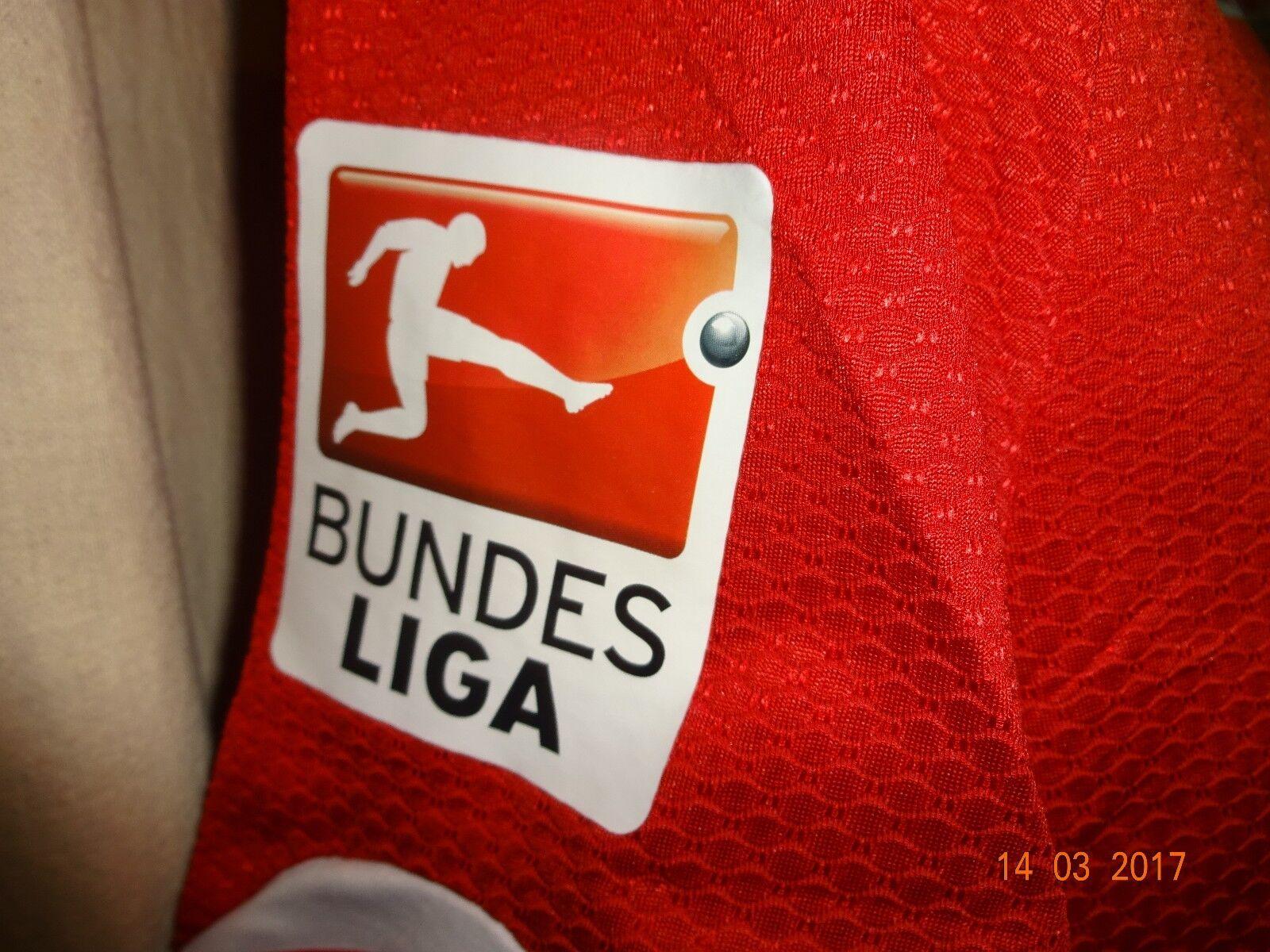 FSV Mainz 05 Lotto Spieler/Matchworn Trikot Kalig 15/16