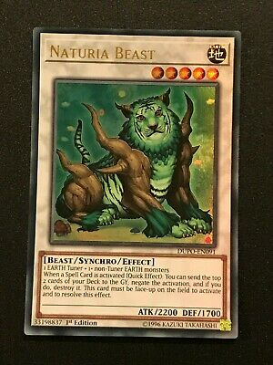 Naturia Beast  DUPO-EN091 Ultra Rare  YuGiOh Cards