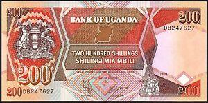 1994-Uganda-200-chelines-billete-DB-247627-UNC-P-32b