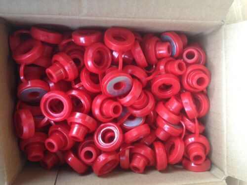 Hi Temp Red Snapper Exhaust Grommet With Washer anti-vibration Insulators-50 Pcs