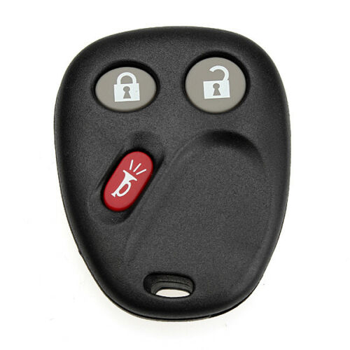 Chevrolet GMC 3BT Remtoe Keyeless Entry Blank Key Fob Case Shell Pad