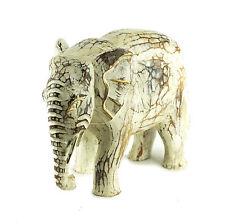 Dekofigur Elefant aus Holz 1273