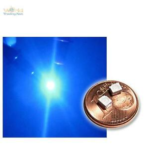 100 SMD LEDs 3528 BLAU - blaue LED SMDs PLCC-2 BLEU SMT
