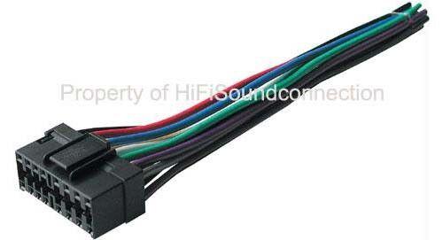 Best Kits BHJVC16 JVC 16 Pin Head Unit CD Player Wire Harness Car ...
