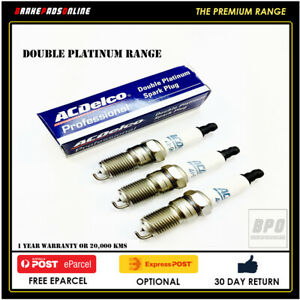 Details about Spark Plug 3 Pack for Daihatsu Charade G11 1.0L 3 CYL on