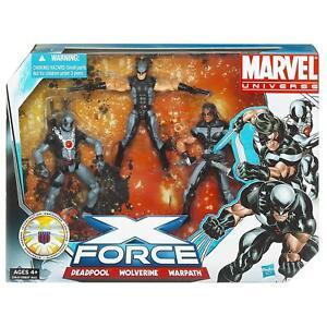 Marvel Univers Super Héro Équipe Packs X Force (nouveau, Scellé)