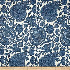 "P Kaufmann Fabric 100% Cotton Duck Fabric Batik Indigo 54"" Wide Sold By The Yard"
