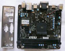 MSI AM1I Mainboard 7865-001R AMD Athlon AM1 Mini-ITX 2x DDR3 Sata 6 HDMI WLAN