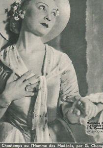 Confiant Les Annales Politiques 1934 N° 2487 -les Aït Abdi