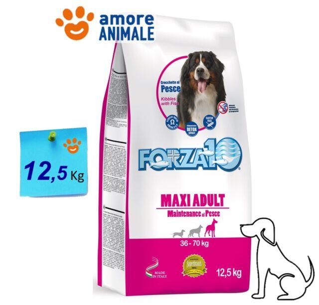 Forza10 Dog Maintenance Maxi Adult con Pesce 12,5 kg - Mantenimento per cani