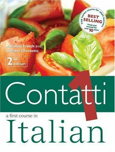 Contatti: Student's Book v. 1: A First Course in Italian By Mariolina Freeth,Gi