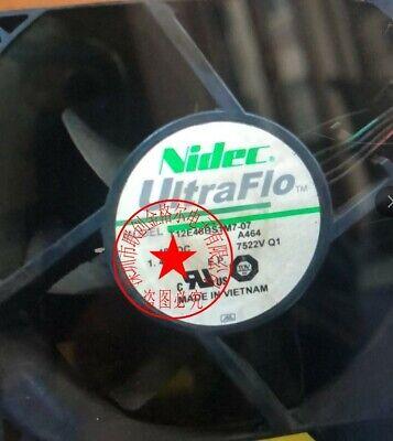 NIDEC T12E48BS1M7-07 A464 48VDC 1.45A 4wire fan 90 warranty #M529D QL