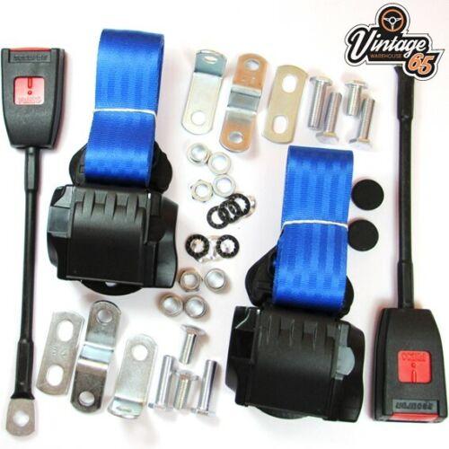 Classique Rover Avant Paire Entièrement Automatique inertie bleu ceinture Kit E Approuvé