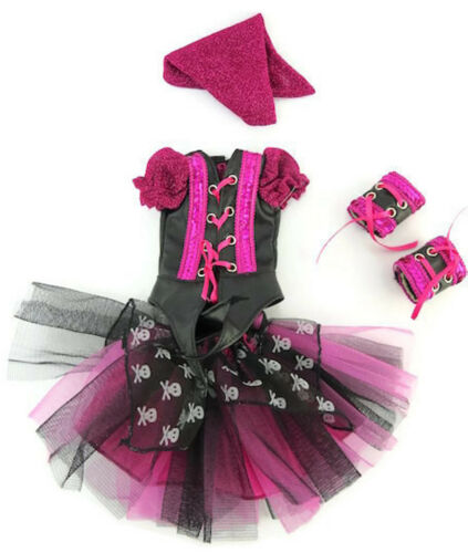 """4 pc Pirate Set fits 14.5/"""" American Girl Wellie Wishers Doll Clothes Halloween"""