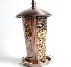MPE jardin extérieur cuivre Suspension Support Graines & Peanuts Wild Bird Feeder Table-afficher le titre d`origine LlKMdD7X-07183303-995151491
