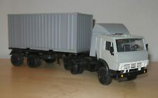 1/43 KamAZ-5410 K-9385 semi-trailer truck Elecon model Russian КамАЗ Элекон фура