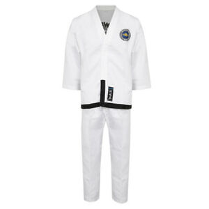 ITF-Taekwondo-Diamond-Elite-Black-Belt-Fighter-Uniform-Suits-Gi-Training-Dobok