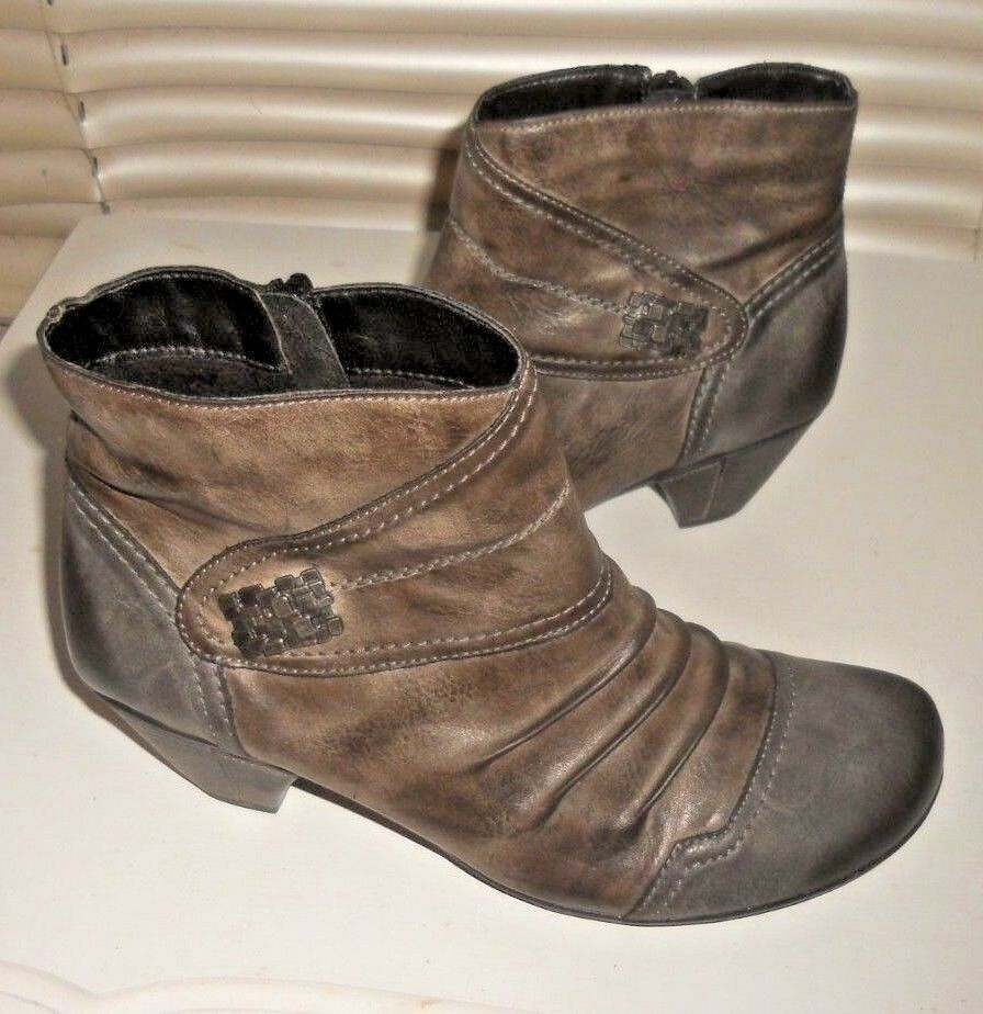 Remonte  Art to Wear  Distressed Warmer Low Heel Stiefel  40