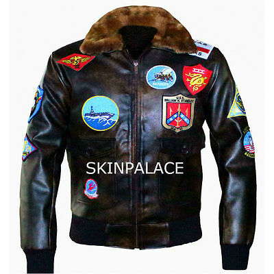 Top Gun Pete Maverick, Tom Cruise Faux Leather Jacket. For Die Hard Top Gun Fans