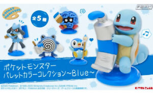 Pokemon-Mini-Figure-Set-034-Palette-Color-Collection-Blue-034-Japan