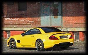 Mercedes-SL-R230-AMG-Rear-Trunk-Boot-Lip-Spoiler-PRIMED-amp-QUALITY