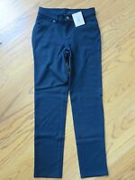 Lands End Girls 5 Pocket Black Pants Size 12
