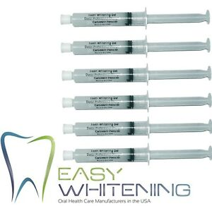 60ML-CARBAMIDE-PEROXIDE-18-HOME-BLEACHING-TOOTH-WHITENING-HUGE-6X10ML