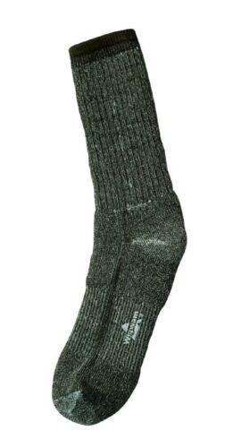 Wigwam Olive Drab Merino Wool Socks Pair Extra Warmth And Moisture Wicking
