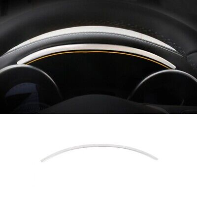 Color Name : Black XCVIOSEDR The car interior Fit For Mercedes Benz C Class W205 GLC X253 2015-2020 Car Styling Center Console Armrest Box Buttons Frame Decoration Sticker Trim