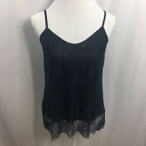 NWT-Vince-Camuto-Women-039-s-Cami-Tank-Top-Lace-Stretch-Floral-Size-Medium