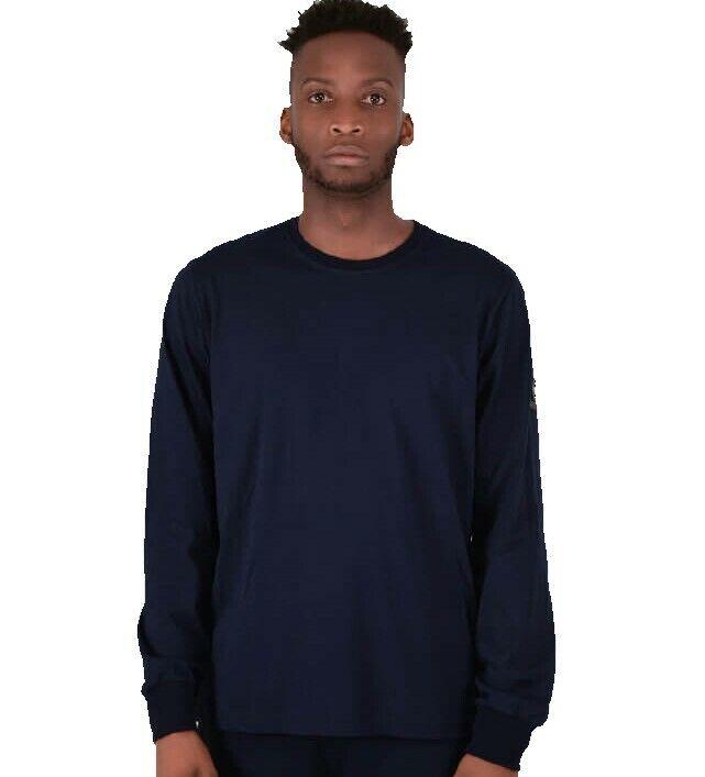40% OFF Neu Herren Marshall Artist Langärmelig Marineblau Sirene T-Shirt