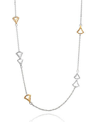 "Badgley Mischka 18 KT Yellow Gold 24"" Necklace"