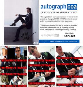 MATT-BOMER-signed-Autographed-034-WHITE-COLLAR-034-8X10-PHOTO-b-PROOF-Sexy-ACOA-COA