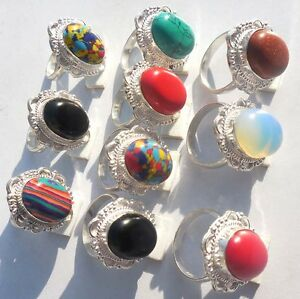 FANTASTIC-JEWELRY-WHOLESALE-LOT-10PC-925-STERLING-SILVER-OVERLAY-RING