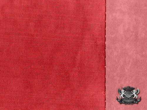 """Unisuede HOT ROD RED Fabric 55/"""" Wide Sold By The Yard"""